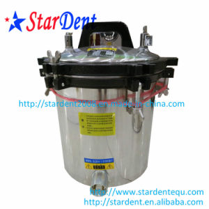 Stainless Steel Portable Sterilizer Sterilization of Dental Pressure Cooker with Faucet 18L pictures & photos