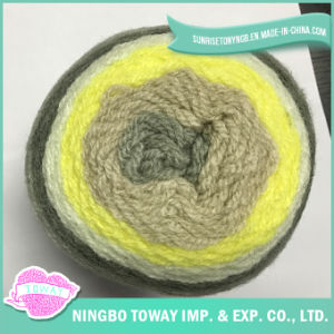 Thick Multicolor Blended Acrylic Wool Hand Knitting Yarn pictures & photos