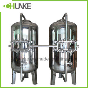 Stainless Steel Carbon/Sand Water Filter Housing for RO Water Treatment pictures & photos