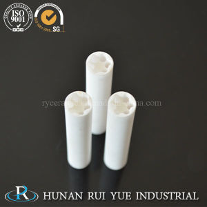 99.7% High Purity Al2O3 High Temperature 1800c Ceramic Tubes pictures & photos