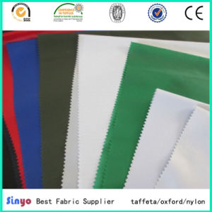 Polyester Pd Taffeta 190t Jacket Lining Garment Fabric (SGS) pictures & photos