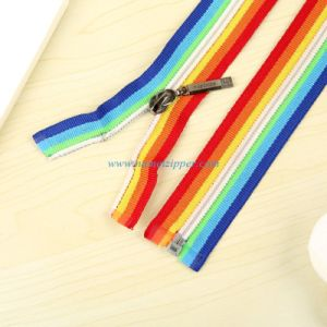 No. 5 Nylon Zipper Colored Tape pictures & photos
