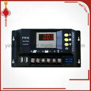 PWM 12V or 24V 20A LED Screen Solar Charge Controller pictures & photos