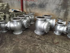API Flanged Cat Steel Swing Check Valve pictures & photos