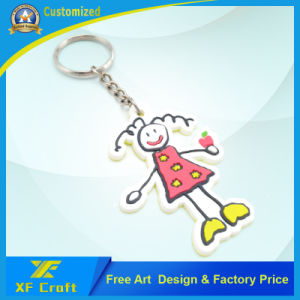 Cheap Customized Cartoon Soft PVC Rubber Key Chain /Key Holder for Decoration (XF-KC-P35) pictures & photos
