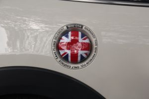 Union Jack Oil Tank Cover for Mini Cooper F56 pictures & photos