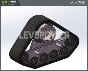 Hot-on Rubber Track Crawler Used for Tractor pictures & photos