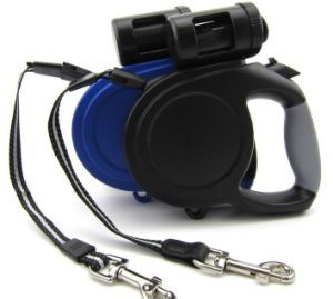 26FT Retractable Dog Leash with One Waste Dispenser pictures & photos