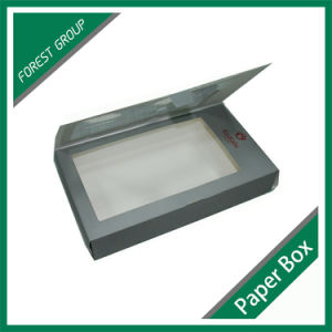 Offset Printing Paper Boxes with PVC Window pictures & photos