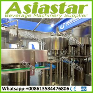 Fully Automatic Beverage Pure Water Pet Bottle Filling Machine pictures & photos