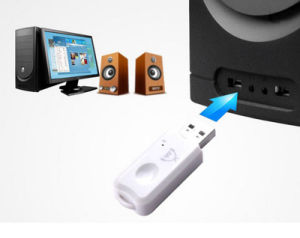 Hands-Free V2.1 USB Bluetooth Music Audio Receiver Dongle pictures & photos