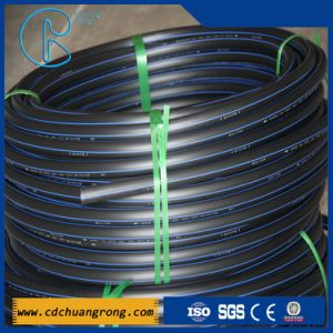 Plastic HDPE Water Pipe with PE100 or PE80 pictures & photos
