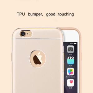 Metal Hollow TPU+PC Phone Case for iPhone 6/6s/6 Plus pictures & photos