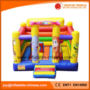 Pink Inflatable Wedding Princess Bouncy Jumping Castle (T2-510) pictures & photos