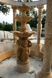 Large Fountain Sculpture Fountain Marble Fountain Mf-031 pictures & photos