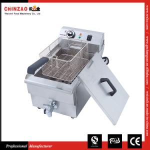 Single Tank Commercial Electric Fryer Dzl-17V pictures & photos