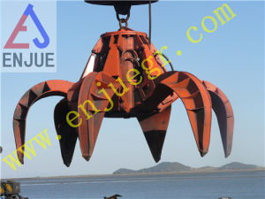 Electric Hydraulic Grab with 6 Petels for Loading Small Rock pictures & photos
