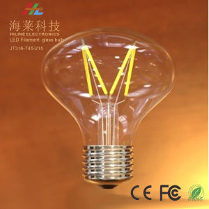 Triac Dimmable Glass LED Filament Bulb Jt316-T45-215 pictures & photos