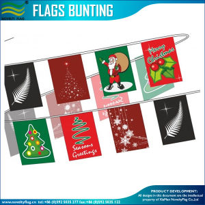 Bunting Flags, Festival Flags, Christmas Display, Christmas Bunting (J-NF11P07040) pictures & photos