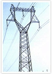 Customed Steel Transmission Line Tower pictures & photos