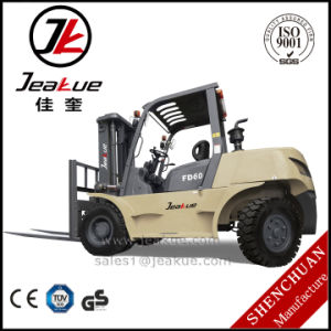 China Jeakue Brand Xichai 6110 Engine 6t Diesel Forklift pictures & photos