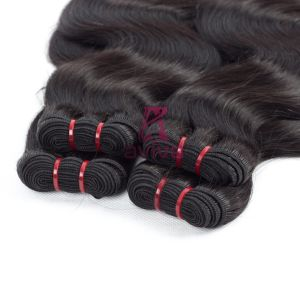 "Brazilian Virgin Hair Straight 100% Unprocessed Human Hair Bundles 8""-30"" 1 Piece Hair Extension pictures & photos"