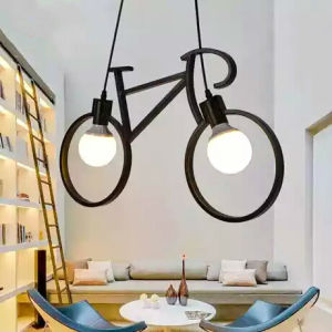 Modern Bicycle LED Coffee Shop Bar Droplight Pendent Lamp pictures & photos
