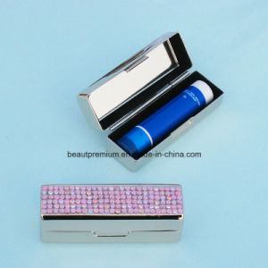 Beauty Lipstick Case with Gemstone Lipstick Holder BPS0153