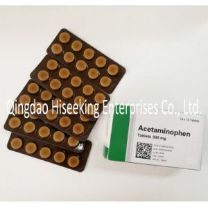 OEM Pharmaceutical Chemical Paracetamol Tablets 500mg pictures & photos