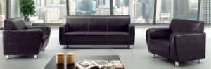 Classic Black Free Combination Sofas for Office with PU Cover pictures & photos