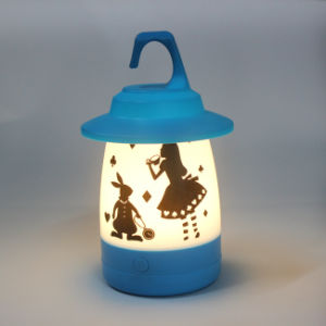 Portable Operated Plastic Bright Luminary Lighting Home Decorative LED Table Lighting Lamp pictures & photos