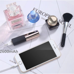 2400 mAh Mini Lipstick Portable Power Bank Mobile Phone Accessory pictures & photos