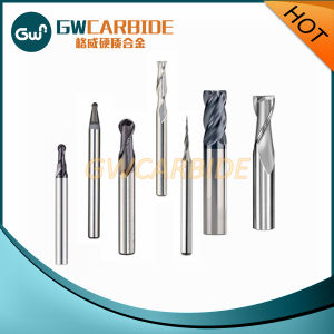 Carbide Cutter Tool 4 Flutes Standard End Mills pictures & photos