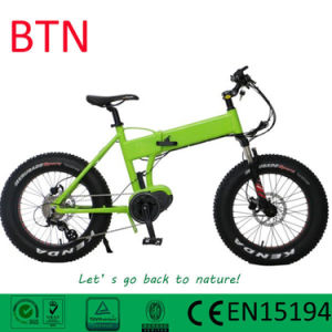 Mini Electric Fat Folding Bike with 20inch Tire pictures & photos