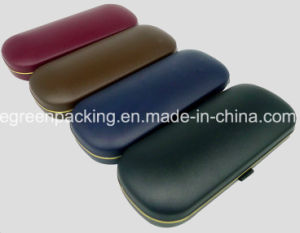 Simple Plastic Eyeglasses Case in Black, Dark Blue, Coffee, Dark Red (PCZ3) pictures & photos