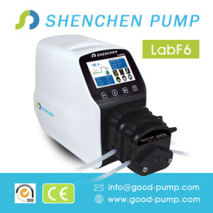 Small Digital Control Peristaltic Pump Liquid Filling Machine pictures & photos