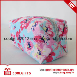 Fashion Wholesale Canvas Cosmetic Promotional Bag for Ladies pictures & photos