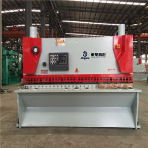 QC11k 8*3200 Hydraulic CNC Guillotine Shear pictures & photos
