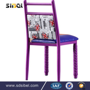 Dining Chair on Mic Grey Fabric Cover Dining Chair pictures & photos