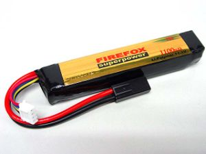 Flame 11.1V 1200mAh Lipo Li-Po Li-Polymer Airsoft Battery 15c pictures & photos