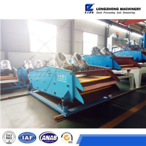 Liner Vibrating Screen Machine with Vibration Motor pictures & photos