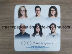 Digital 4 Color Print Microfiber Promotional Glasses Cleaning Cloth pictures & photos
