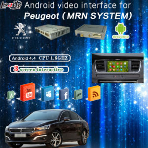 Android GPS Navigation Multimedia HD Video Interface for 13-16peugeot 208, 2008, 308, 408, 508 (MRN SYSTEM) pictures & photos