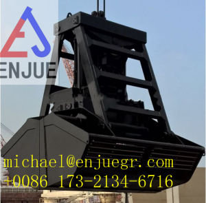 Wireless Electric Hydraulic Remote Control Grab Bucket for Bulk Cargo pictures & photos