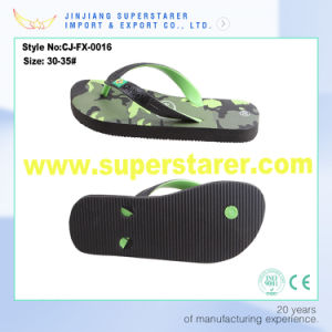 Cheap Kids Outdoor Flip Flop, PVC Upper PE Flip Flop pictures & photos