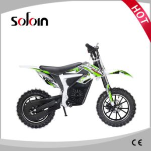 Mini DC Motor 500W 24V Kids Electric Dirt Bike (SZE500B-1) pictures & photos
