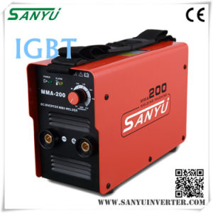 Shanghai Sanyu 2016 New Developed High Duty-Cycle MMA Inverter Welding Machine pictures & photos