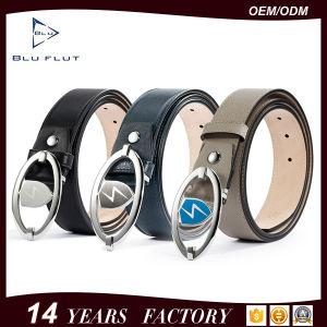 Custom Logo Design Full Grain Cowhide Leather Men Belt pictures & photos