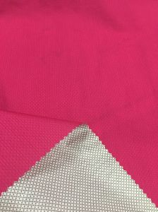 410t Nylon Semi Dull Jacquard Fabric with TPU 3k/5k Backing for Down Jackets pictures & photos