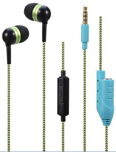 Sharing Wired Earphone with Mic/ Microphone (OG-EP106) pictures & photos